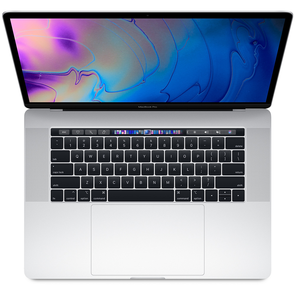 Macbook Pro 15 inch with Touch Bar Silver