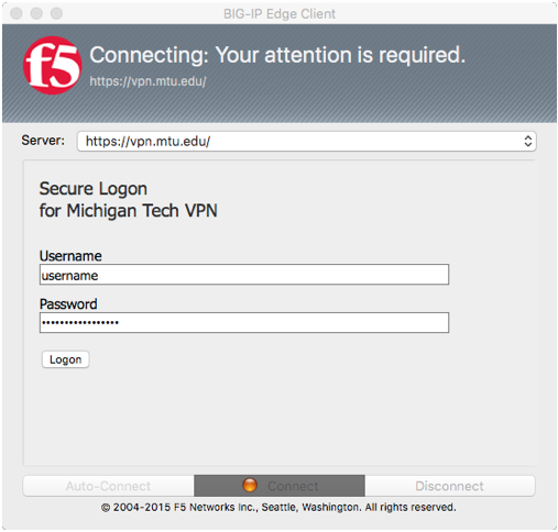 log in with your ISO credentials