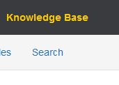 Search in the Knowledge Base